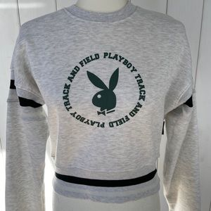 NEVER WORN Playboy Cropped Sweater